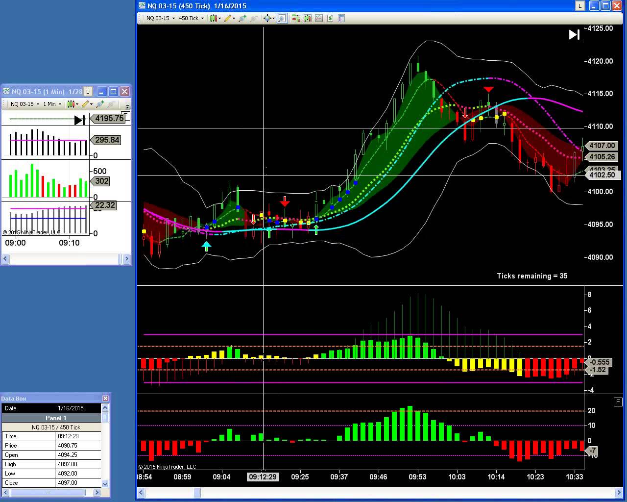 DecisionBar Trading Software issues accurate Buy and Sell signals in real-time. Trade any market. Perfect for day-traders swing-traders and investors.